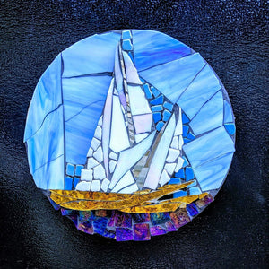 Miles Mathews Class Intro to Glass Mosaic