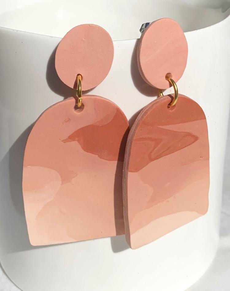 Morgan Sandusky Workshop Polymer Clay Earrings