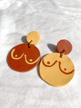 Load image into Gallery viewer, Morgan Sandusky Workshop Polymer Clay Earrings