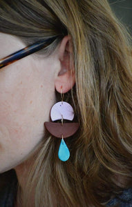 Rhiannon Saunders Workshop Polymer Clay Earring