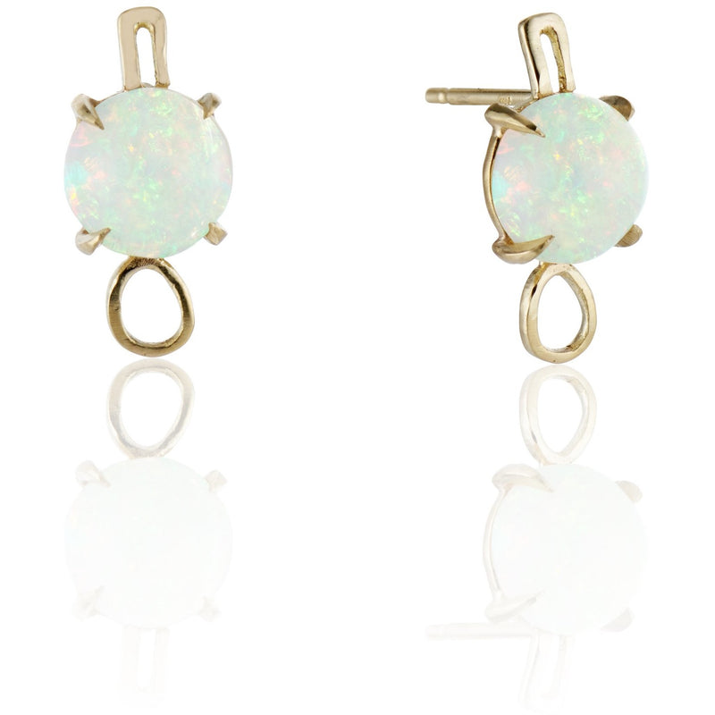 Best Colored Earrings Fine Jewelry opal studs Hand Crafted Couture bespoke custom Drop Earrings cuff earring pearl New York times New York Moda operandi kardashian pearls