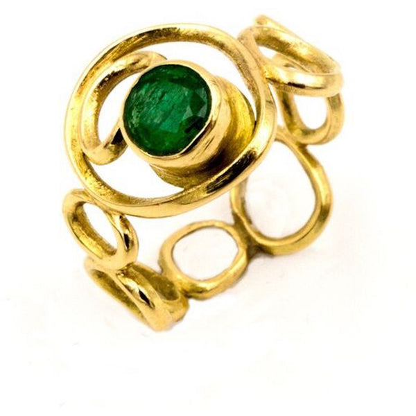 Best Fine Jewelry Colored Emerald Ring