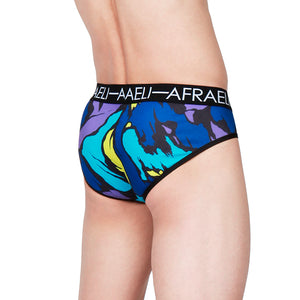 Men's Modern Brief - Mariana Print