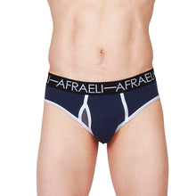 Load image into Gallery viewer, Men's Remix Brief - Navy Blue