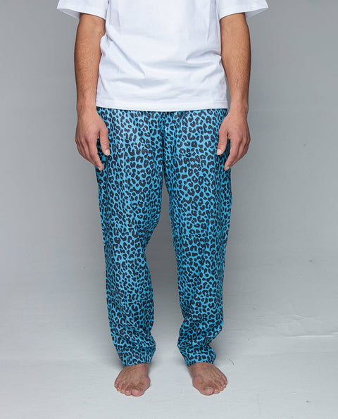 Blue Tiger Pyjama Pants - Pyjama Pants - Pockies