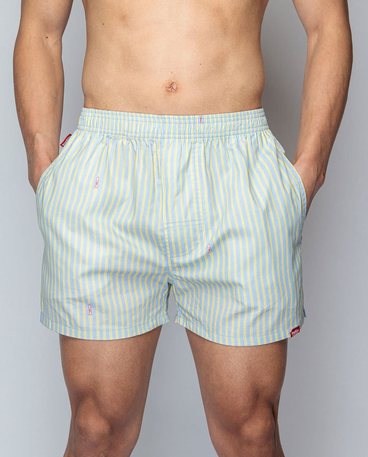Pocketless Squared - Men Boxer - Pockies