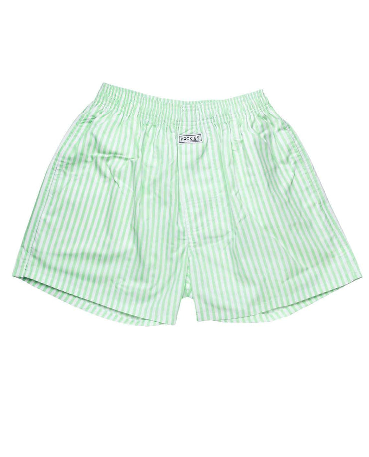 Men Boxer - Mint Stripes