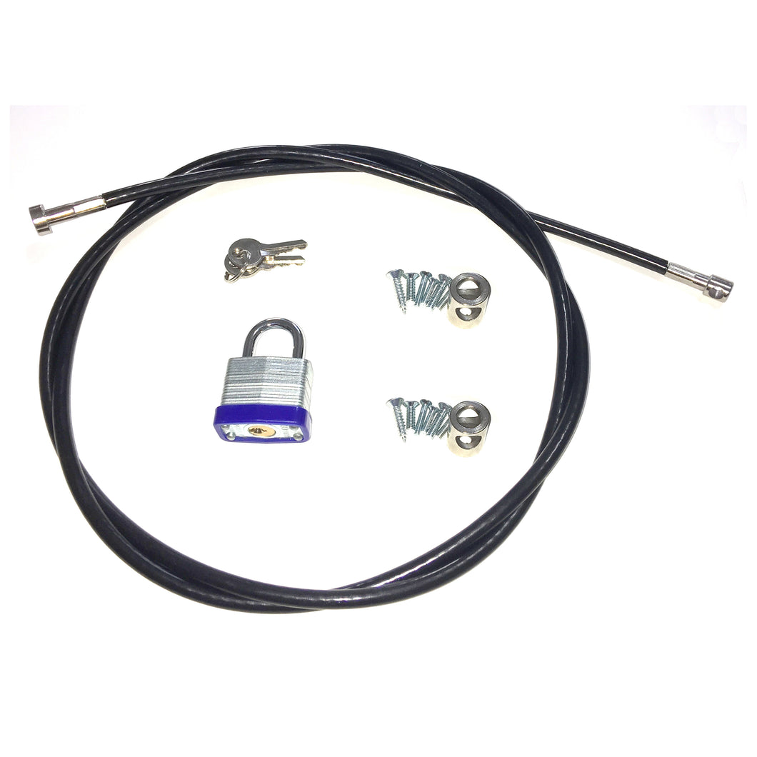 6mm appliance locking kit