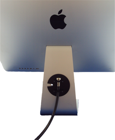 iMac security clamp