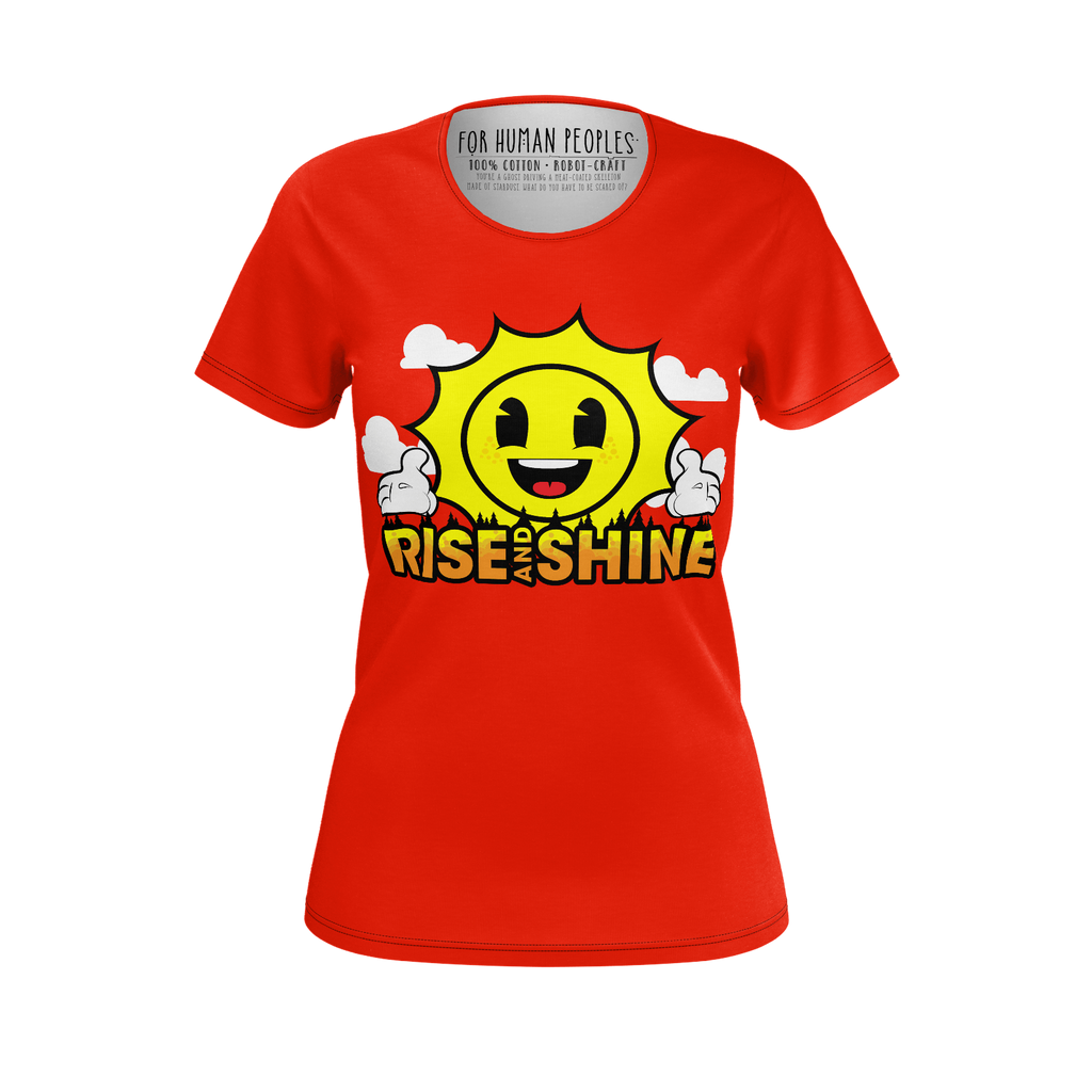 RISE & SHINE T-SHIRT - GIRLS