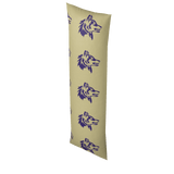 Husky Body Pillow  Case (Purple & Gold Inverted)