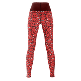 Pixel Heart Yoga Pants