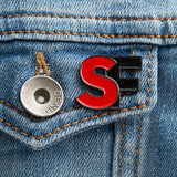 SourceFed Logo Pin