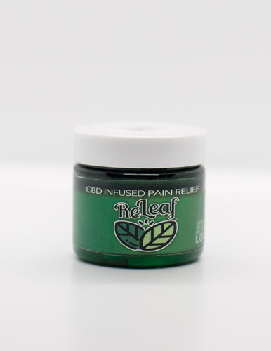 2oz Jar, 125mg Full Spectrum CBD Infused ReLeaf