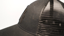 Load image into Gallery viewer, Black On Black Gorilla Trucker Cap