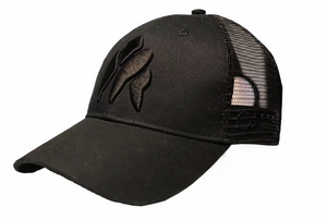 Black On Black Gorilla Trucker Cap