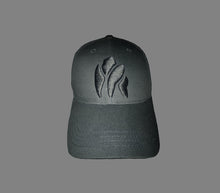 Load image into Gallery viewer, Black On Black Gorilla Baseball Cap