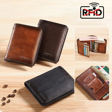 Simple Anti-theft Wallets for Men