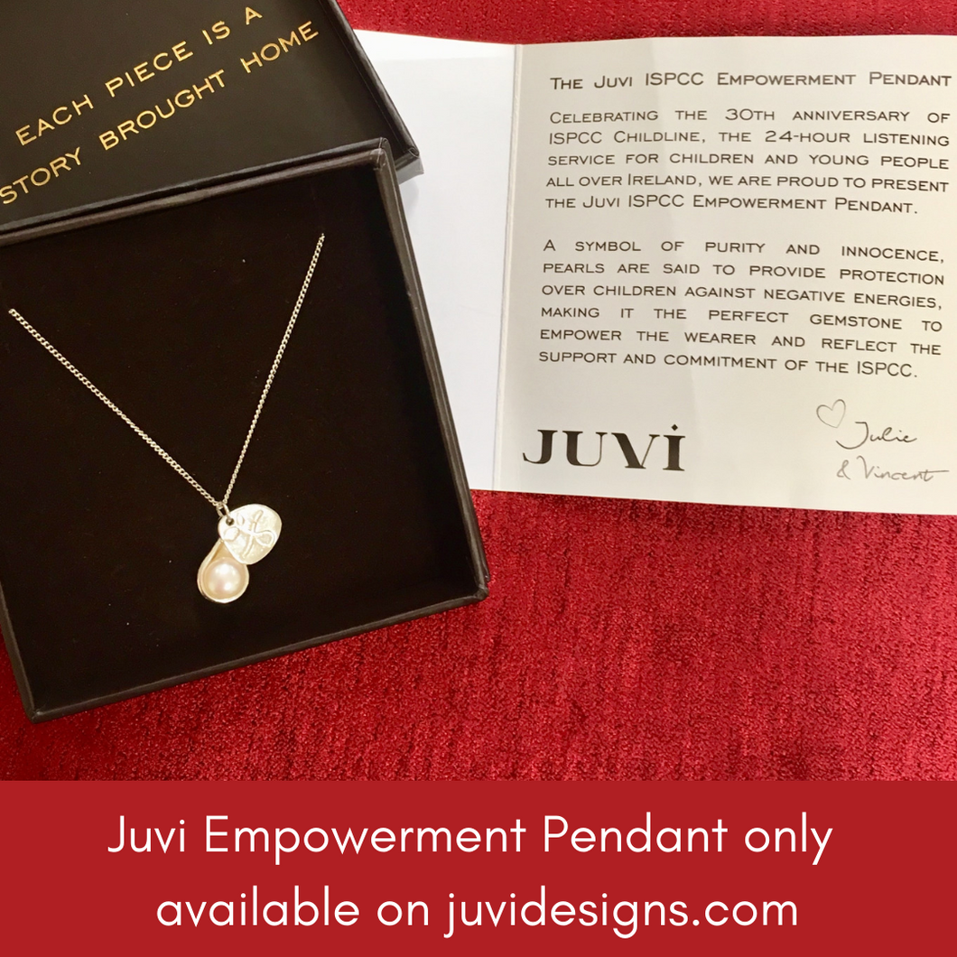 Necklace -  - JUVI ISPCC Empowerment Pendant in aid of ISPCC Childline