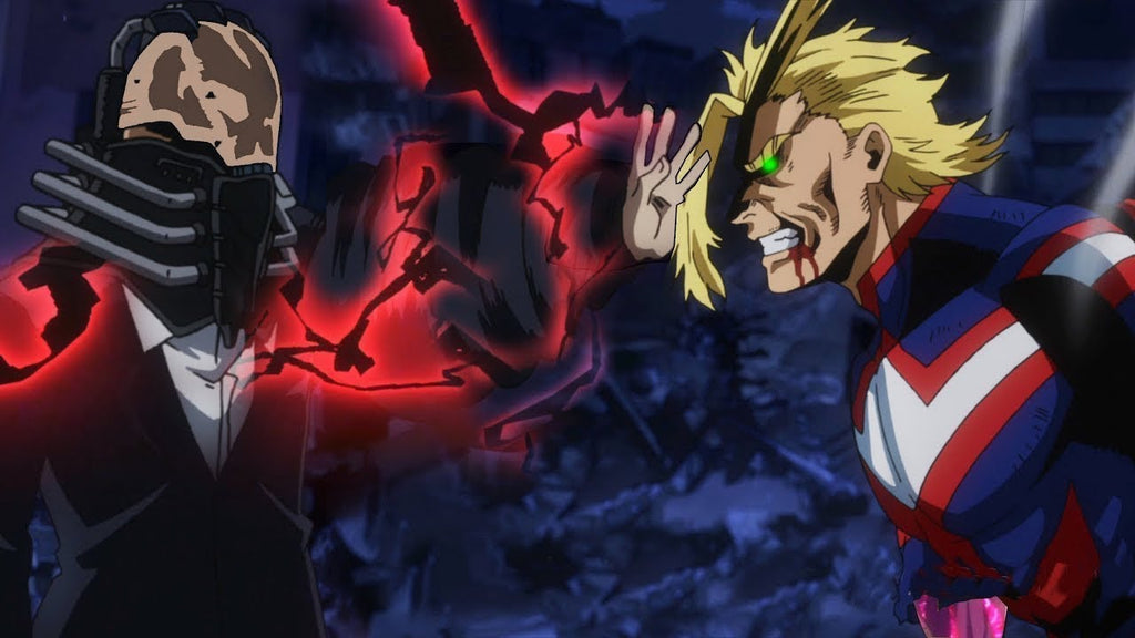 Boku No Hero Academia: All Might VS All For One