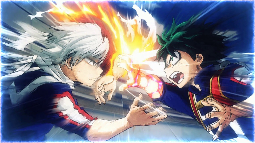 Shoto vs Deku