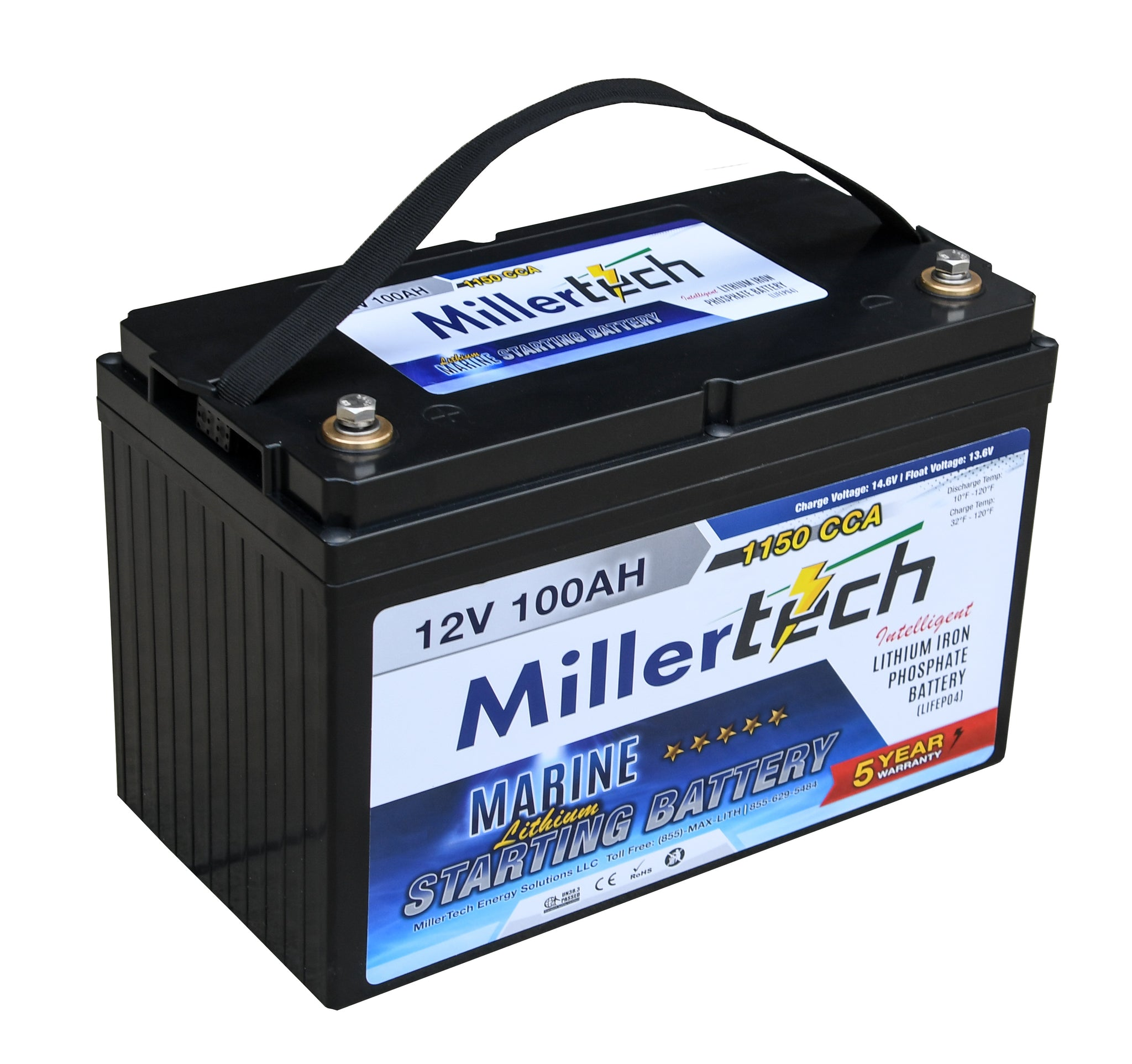 Starting Battery 12 Volt 100 Amp Hour - 1150CCA