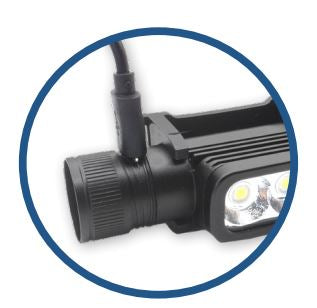 Model 555 Double LED Headlamp - 1800 Lumens - 2nd Generation