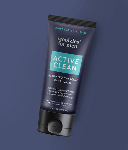 Active Clean Activated Charcoal Face Wash