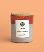 Load image into Gallery viewer, Cabin Patchouli + Sandalwood Soy Candle