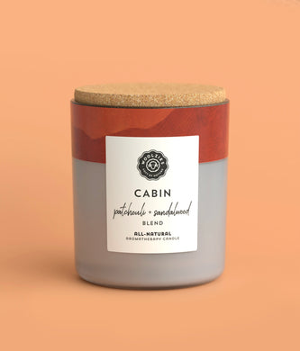 Cabin Patchouli + Sandalwood Soy Candle
