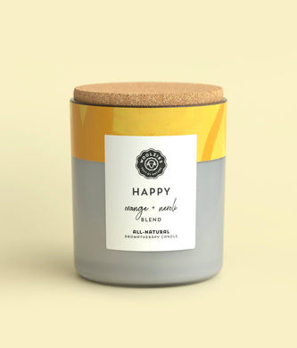 Happy Orange + Neroli Soy Candle