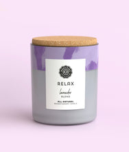 Load image into Gallery viewer, Relax Lavender Soy Candle