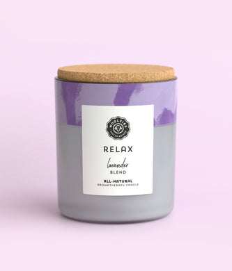Relax Lavender Soy Candle