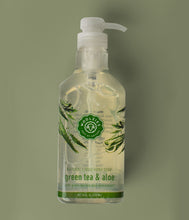 Load image into Gallery viewer, Green Tea & Aloe Liquid Hand Soap