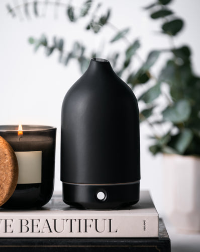 Black Ceramic Glass Diffuser