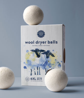 Wool Dryer Balls Set of 6
