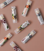 Load image into Gallery viewer, Berry, Coconut, Vanilla Mint Lip Balm Set of 3