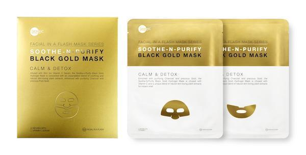 Soothe & Purify Black Gold Mask (1 PC)
