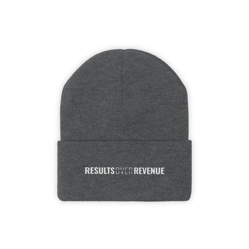 Results Over Revenue - Classic Beanie - Overwear Gear