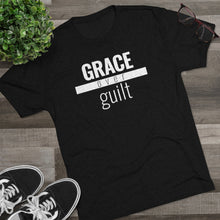 Load image into Gallery viewer, Grace Over Guilt - Premium TriBlend Tee - Overwear Gear