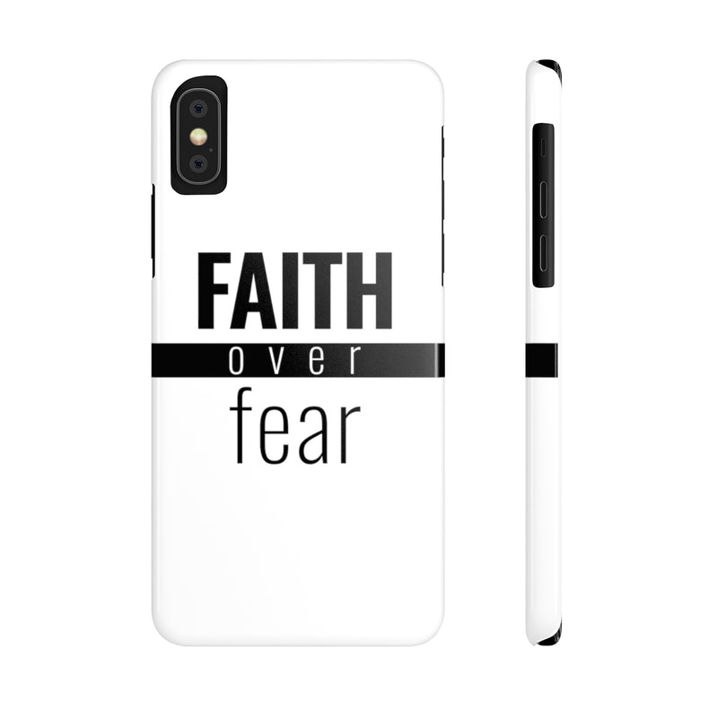 Faith Over Fear - Standard Case
