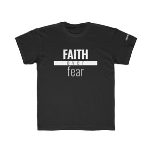 Faith Over Fear - Kids Unisex Tee - Overwear Gear