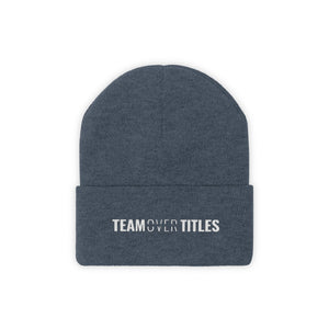 Team Over Titles - Classic Beanie - Overwear Gear