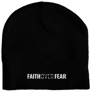 Faith Over Fear - Skull Cap - Overwear Gear