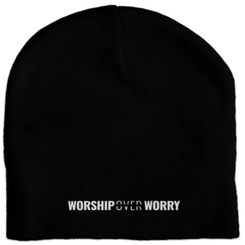 Worship Over Worry - Skull Cap - Overwear Gear