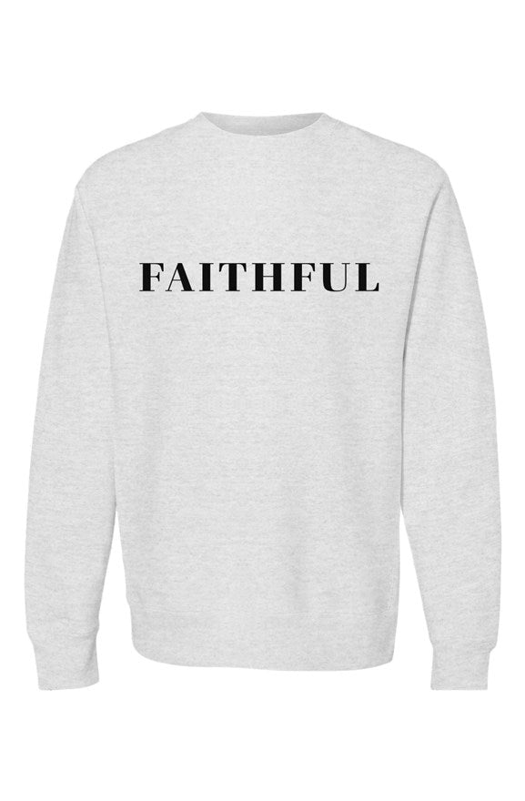 Faithful - Women's Premium Heavyweight Crewneck - Overwear Gear