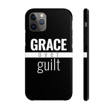 Load image into Gallery viewer, Grace Over Guilt - Tough Case (Black) - Overwear Gear