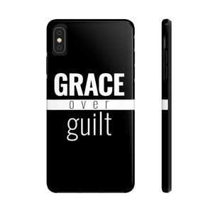 Grace Over Guilt - Tough Case (Black) - Overwear Gear