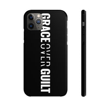 Load image into Gallery viewer, Grace Over Guilt - Tough Phone Case (Black) - Overwear Gear