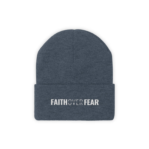 Faith Over Fear - Classic Beanie - Overwear Gear